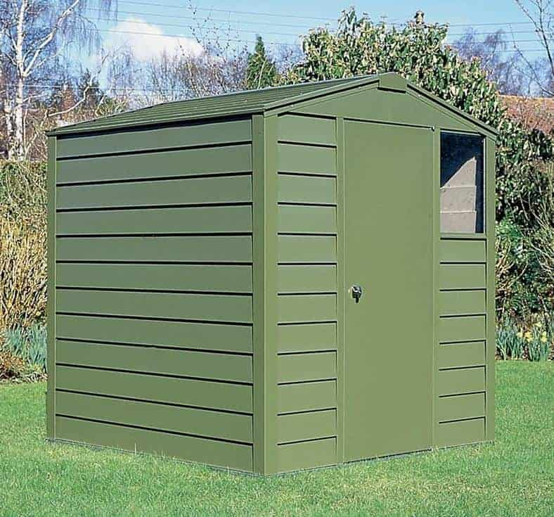Metal Storage Sheds - 6x6 Trimetals Titan 660 Metal Shed