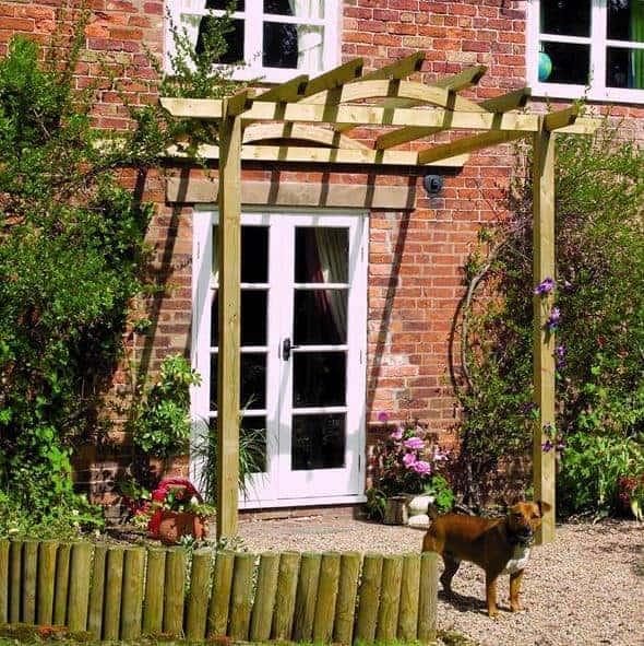 Waltons Flat Top Garden Arch