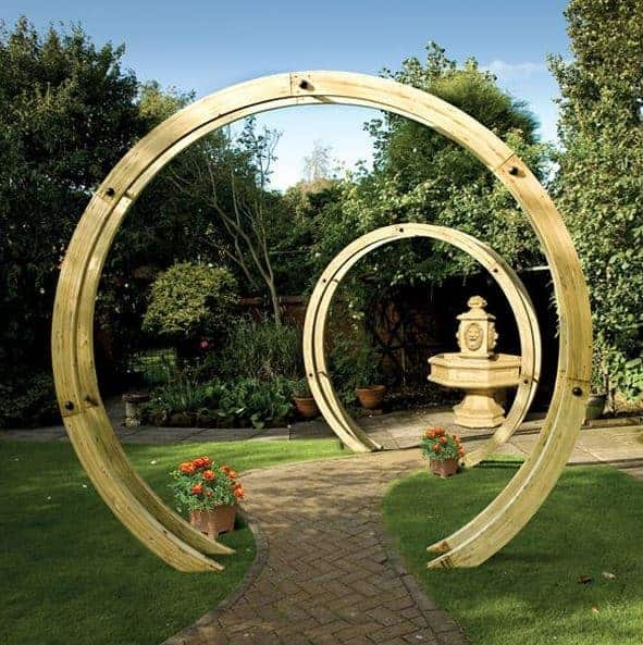 Circle Arbor: Who Has The Best Modern Pergola?