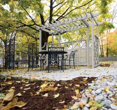 Forest 2.4 x 2.4m Easy Deck Kit Including Pergola
