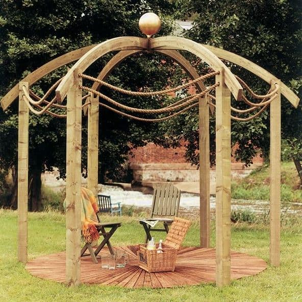 Jac Flower Domed Outdoor Pergola