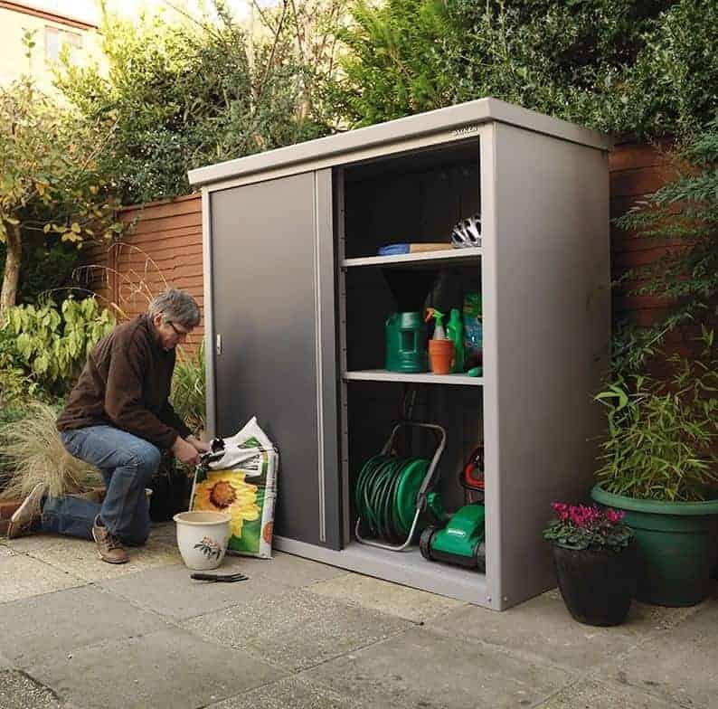 6'x3' (1.8x0.9m) Trimetals Guardian D63 - Premium Garden Storage