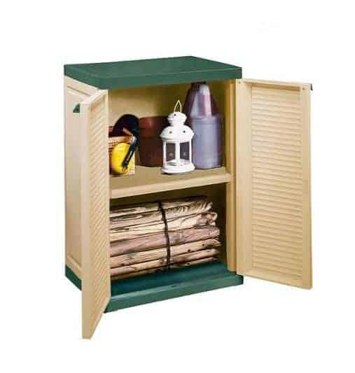 Outside storage cabinet