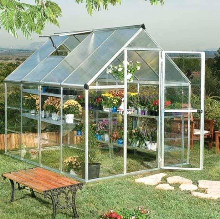 BillyOh Rosette Hobby Aluminium Greenhouse