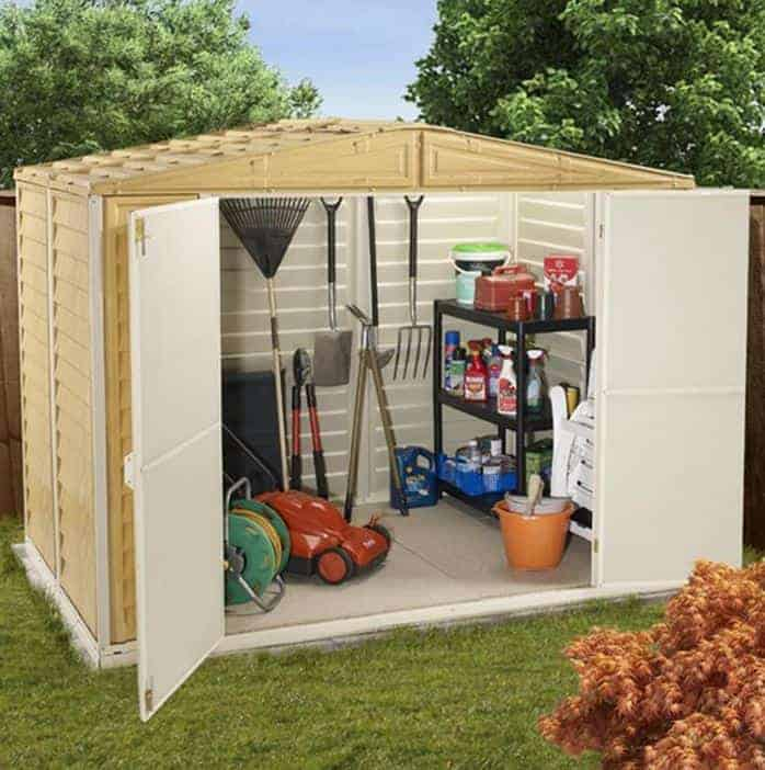 Garden Storage Shed BillyOh Daily Apex Outdoor Plastic Inc Foundation Kit