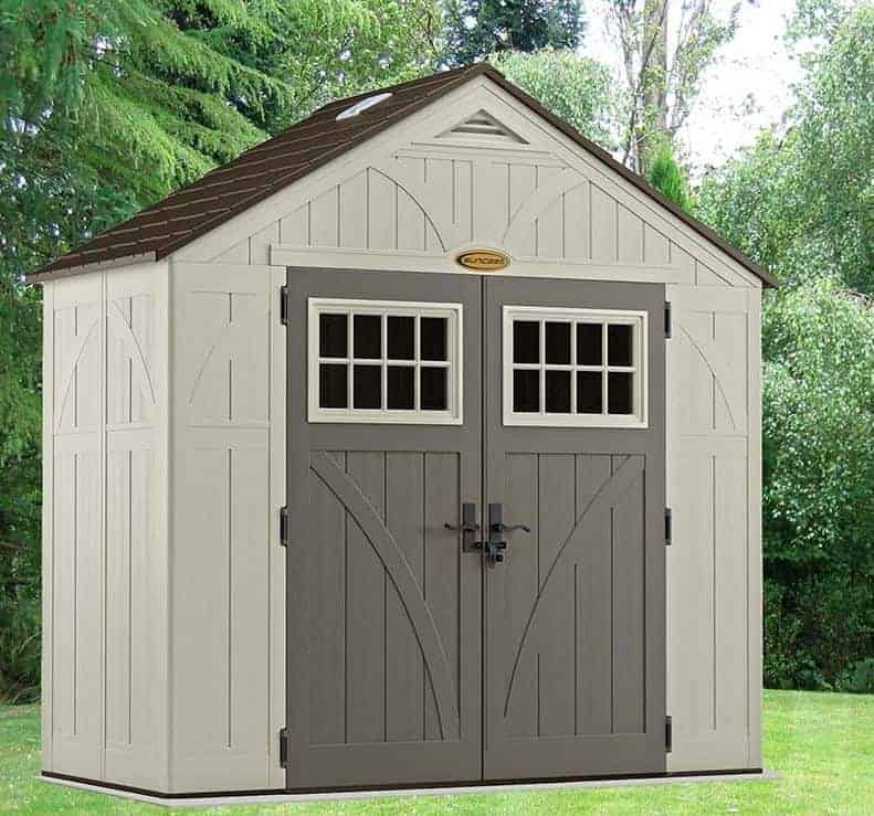 Best Portable Sheds : Resin storage sheds who has the best