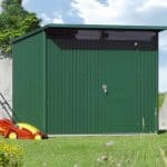 Steel Storage Sheds - 1.8mx2.6m Biohort Avantgarde Metal Shed