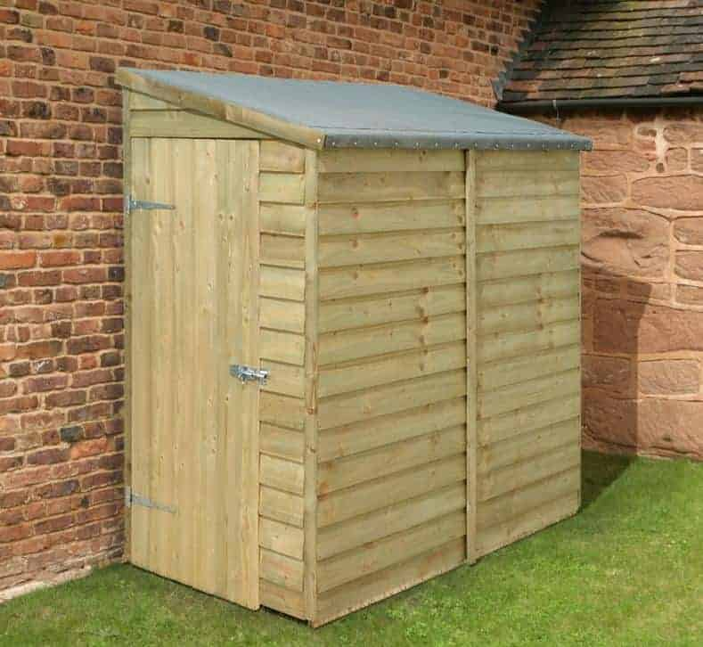 5' x 3' Traditional Pent Tool Store Shed (1.52m x 0.91m)