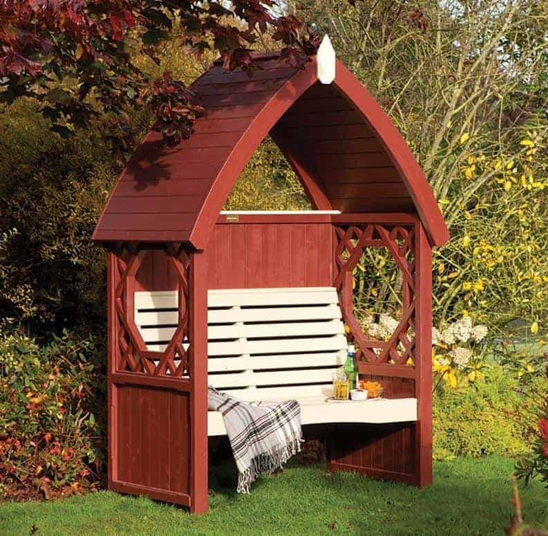 Forest Lyon Garden Arbour Seat 6'x2'