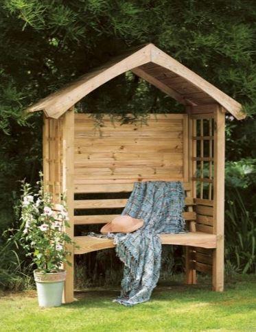 Forest Cadiz Garden Arbour Seat 6'x2'