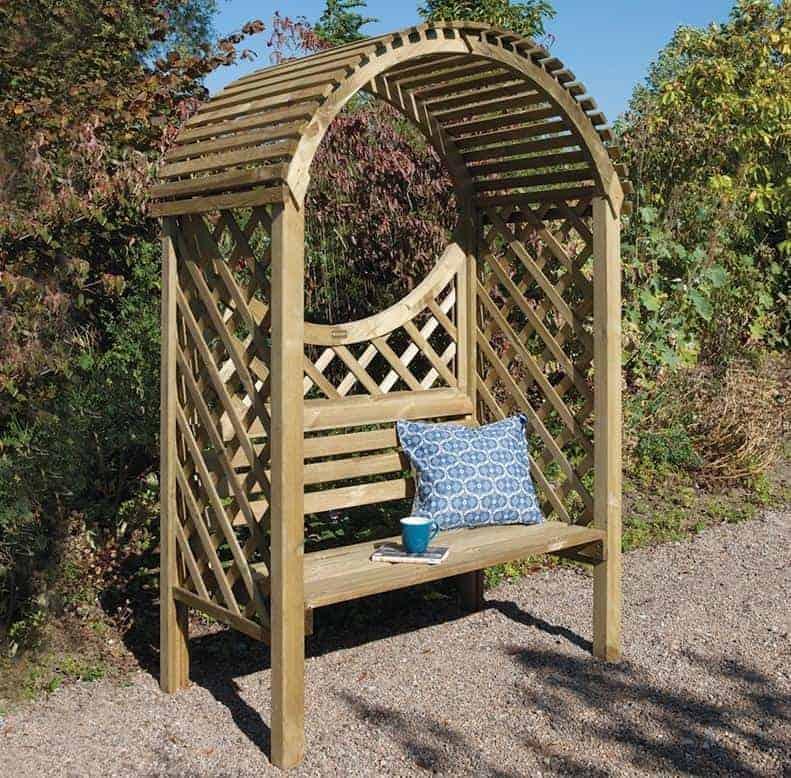 Rowlinson Keswick Garden Arbour Seat 4'x3'
