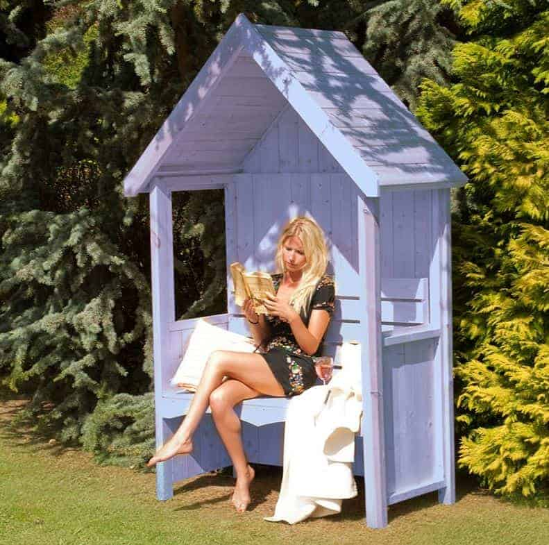 Shire Forget-Me-Not Garden Arbour Seat 5'x3'
