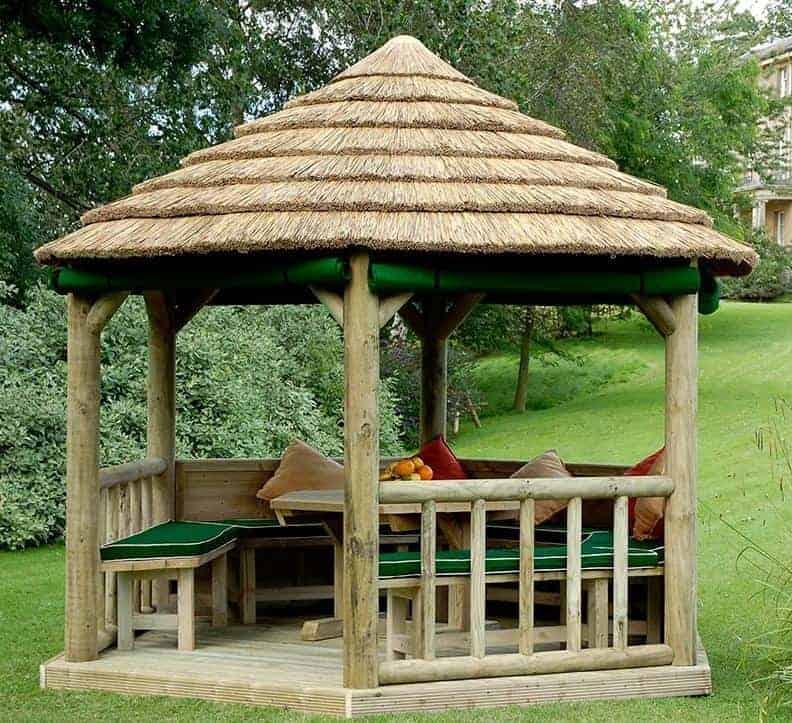 wooden gazebos uk trend. Black Bedroom Furniture Sets. Home Design Ideas
