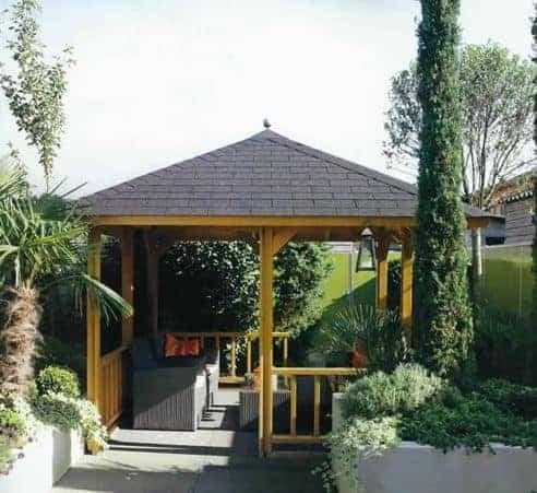 3x3m (10'x10') Palmako Betty Garden Pavilion - Luxury Gazebo