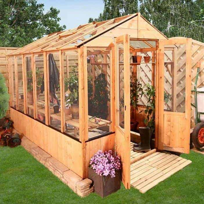 12 x 6 BillyOh 4000 Lincoln Wooden Greenhouses