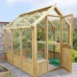 Wooden Greenhouses - 8 x 6 Grow-Plus Vale Wooden Greenhouses