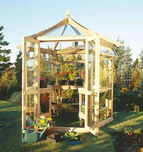 Adley 8' x 6' Octagonal Greenhouse