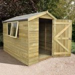 Wooden Storage Sheds - 8 x 6 Shed Republic Ultimate Tongue And Groove Wooden Storage Sheds