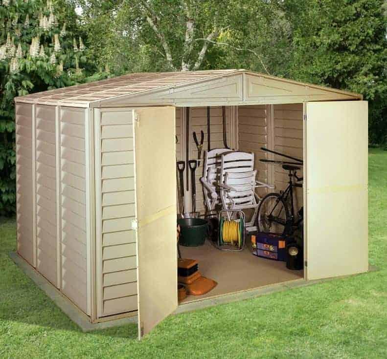 105 x 710 duramax woodbridge plastic workshop sheds