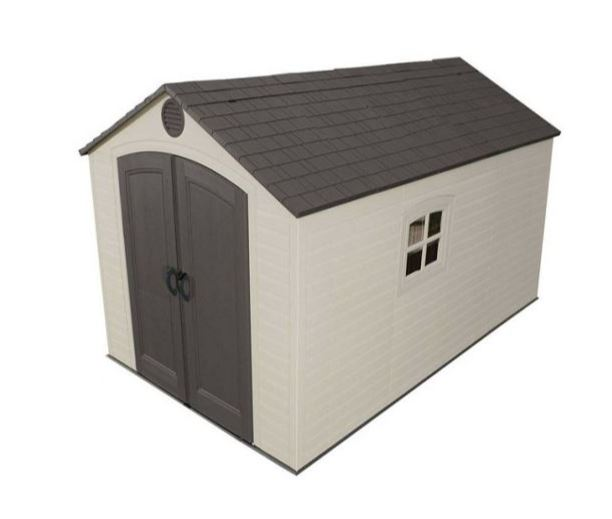 8' x 12.5' Lifetime Special Edition Heavy Duty Plastic Shed (2.43m x 3.81m)