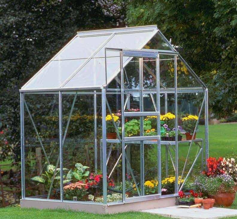 6'4 x 4'4 Halls Popular 64 Small Greenhouse (1.93 x 1.31m)