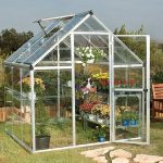 Cheap Greenhouse - 6 x 6 Palram Harmony Silver Cheap Greenhouse