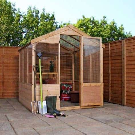 Cheap greenhouse who has the uk s best cheap greenhouse for Inexpensive greenhouse shelving wood