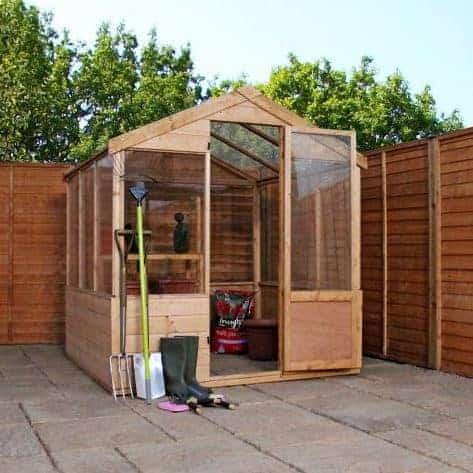 Adley 6' x 4' Budget Shiplap Greenhouse