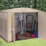 Duramax Sheds - Duramax Sheds 8 x 8 DuraMate Plastic Shed