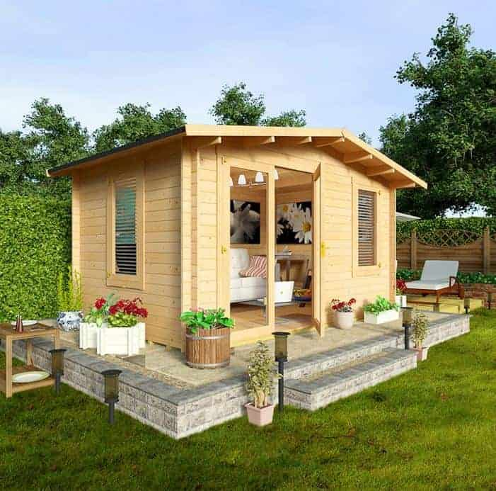 Garden log cabins who has the best for Garden log cabins uk