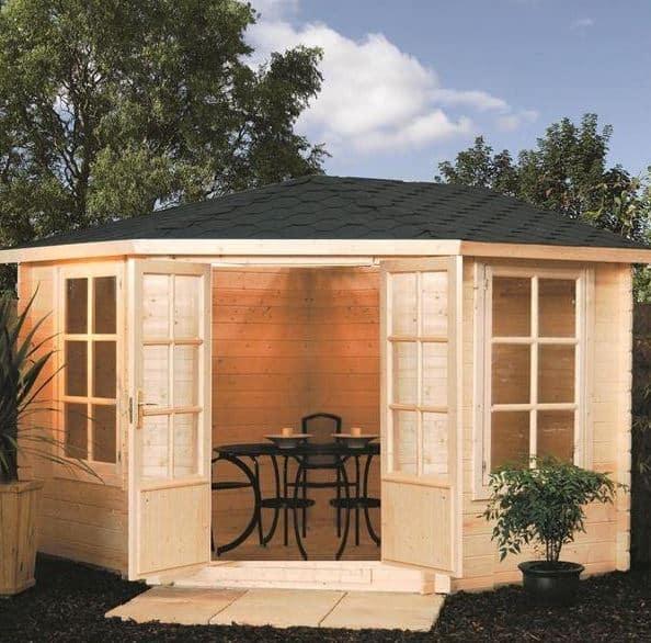 Rowlinson Kestrel Corner Garden Log Cabins