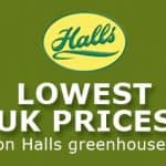 Halls Greenhouses Logo