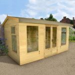 Large Summer House - 14 x 10 Shed-Plus Champion Harvington Large Summer House