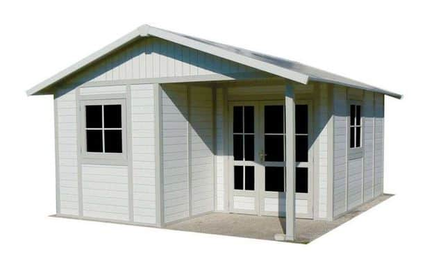 Palmako Irene 5.3m x 5.7m Log Cabin Garden Building (44mm)