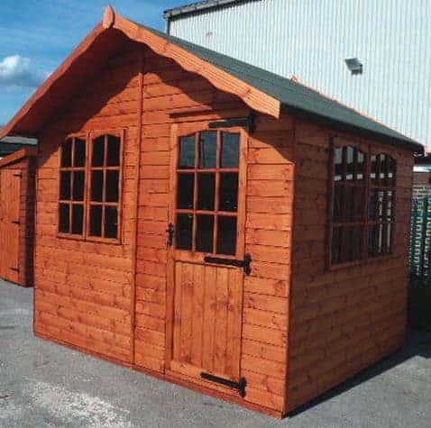 Oren 8' x 8' Mandarin Summer House