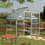 Palram Greenhouse - 6 x 4 Mythos Silver Palram Greenhouse