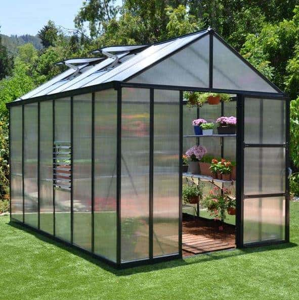 Palram Rion Hobby Gardner 8x16 Green Greenhouse