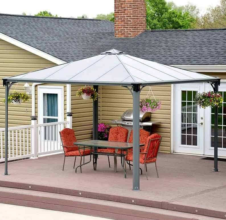 patio gazebo who has the best patio gazebo in the uk. Black Bedroom Furniture Sets. Home Design Ideas