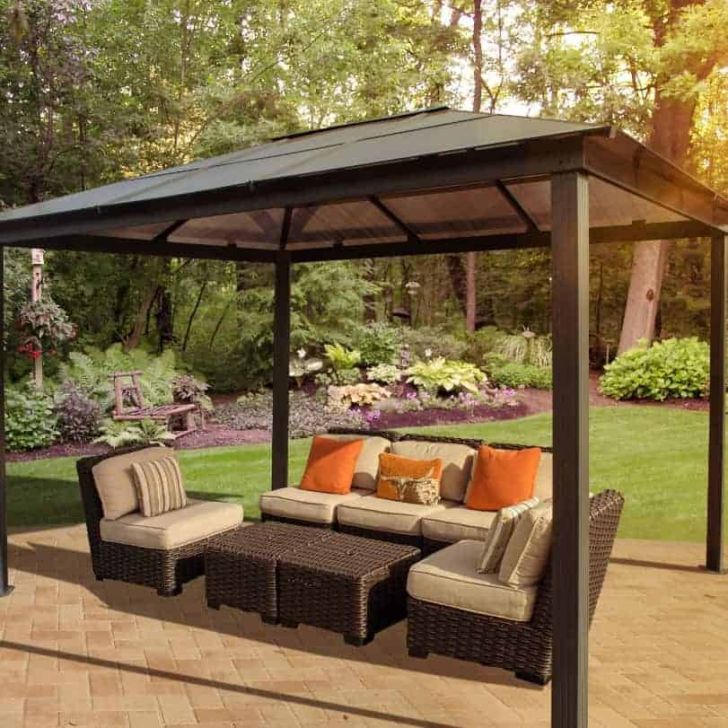 14x10 (4.3x3m) Palram Martinique 4300 Garden Gazebo