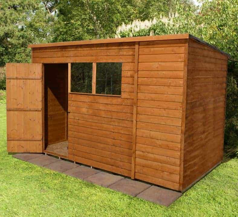 Pent shed offers deals who has the best right now for Garden shed ideas uk