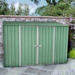 Pent Shed - 9'10 x 5 Absco Storemaster 3PE Metal Pent Shed