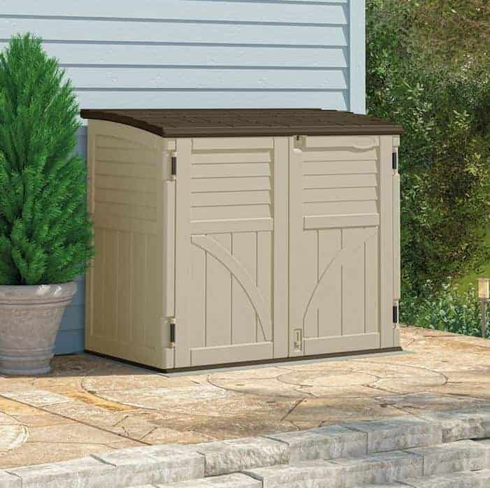 4 x 3 BillyOh Suncast Horizontal Portable Storage Sheds