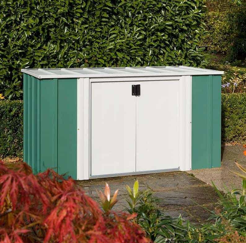 6' x 3' Rowlinson Metal Storette - Garden Storage (1.7m x 0.92m)