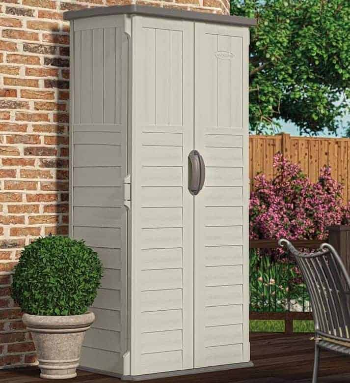 3x2 Suncast New Mannington Large Plastic Garden Storage
