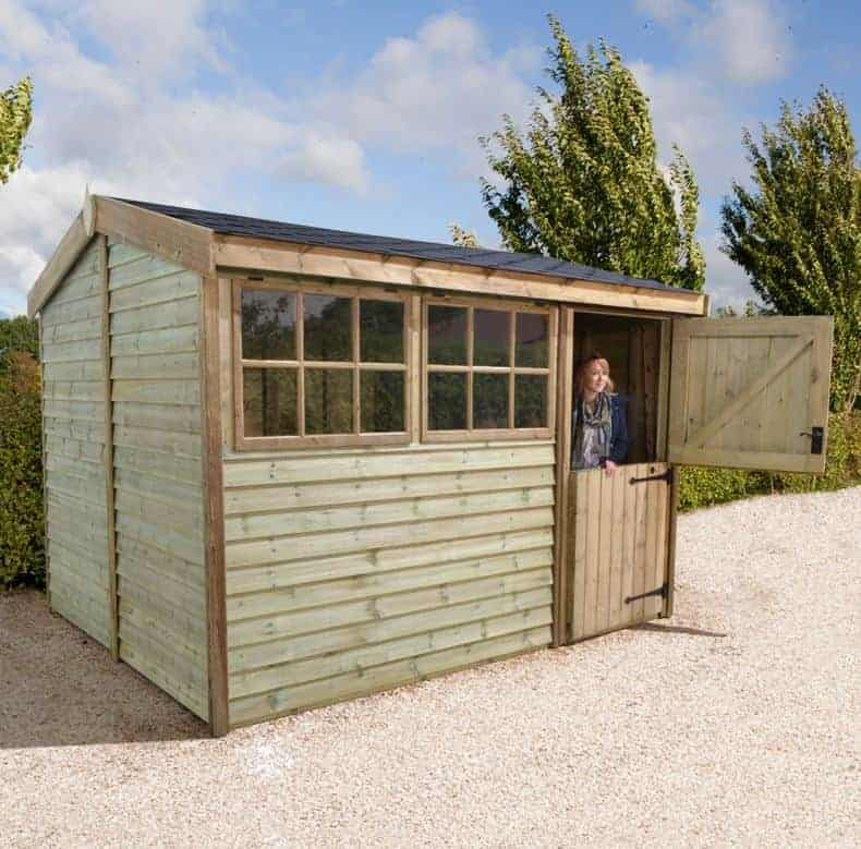 10' x 6' Shed Republic Ultimate Barnstyle Workshop - Stable Door (3.1m x 1.88m)