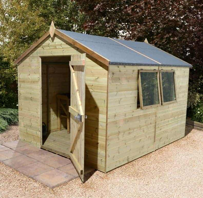 12' x 8' Shed Republic Ultimate Heavy Duty Workshop - Single Door (3.63m x 2.44m)