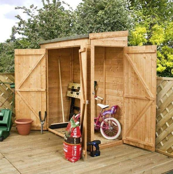 6 x 2'6 Waltons Tongue And Groove Modular Pent Prefab Sheds