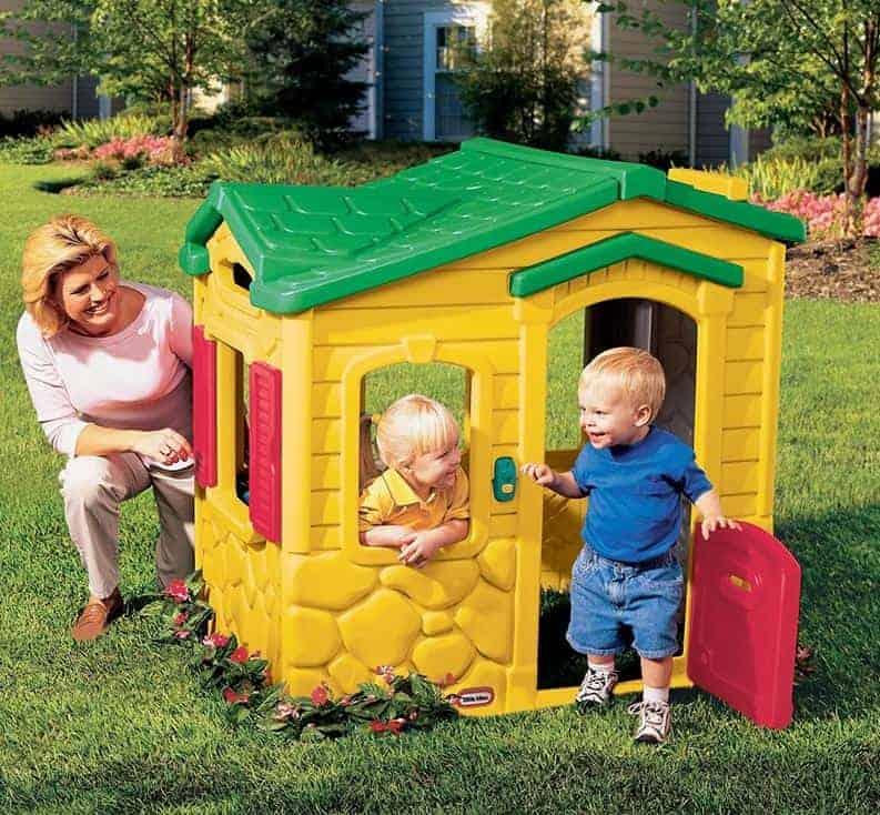 Indoor & Outdoor Summer Garden Happy House Kids Fun Playhouse