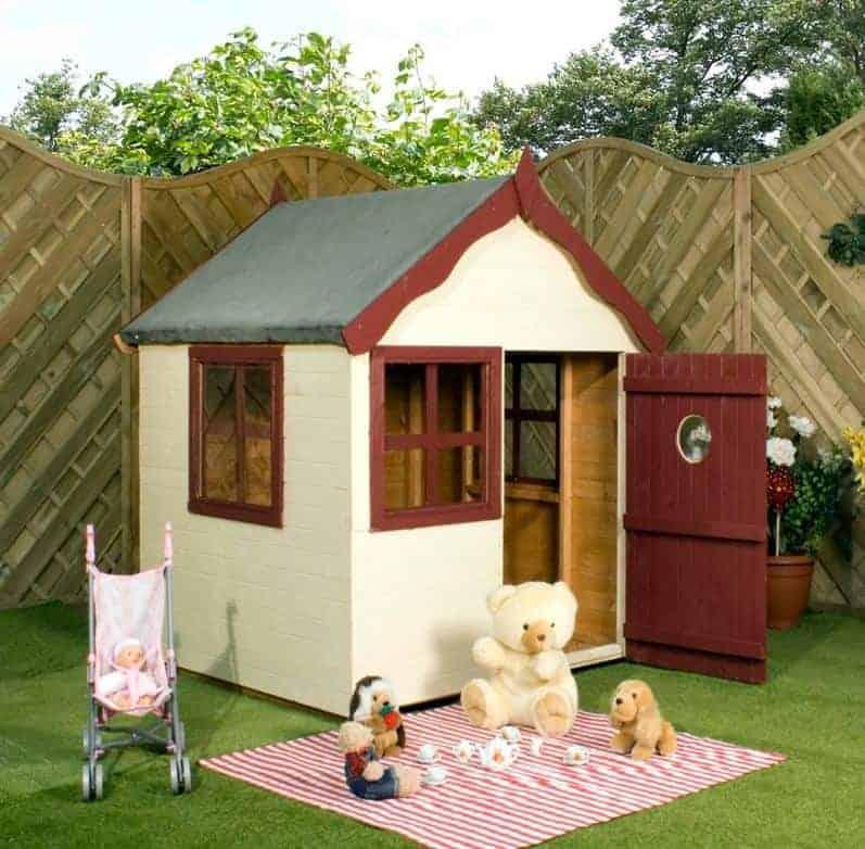 4x4 Windsor Snug Childrens/ Kids Wooden Garden Playhouse