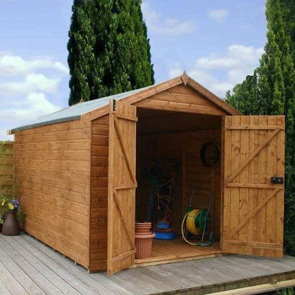 10 x 8 Waltons Windowless Groundsman Tongue And Groove Tough Sheds